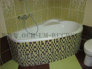 работа плиточника в ванне