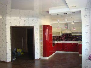 Дизайнерский ремонт в кухне